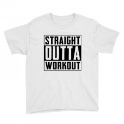 straight outta workout Youth Tee | Artistshot