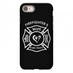 firefighters wife iPhone 8 Case | Artistshot