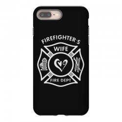 firefighters wife iPhone 8 Plus Case | Artistshot