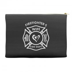 firefighters wife Accessory Pouches | Artistshot