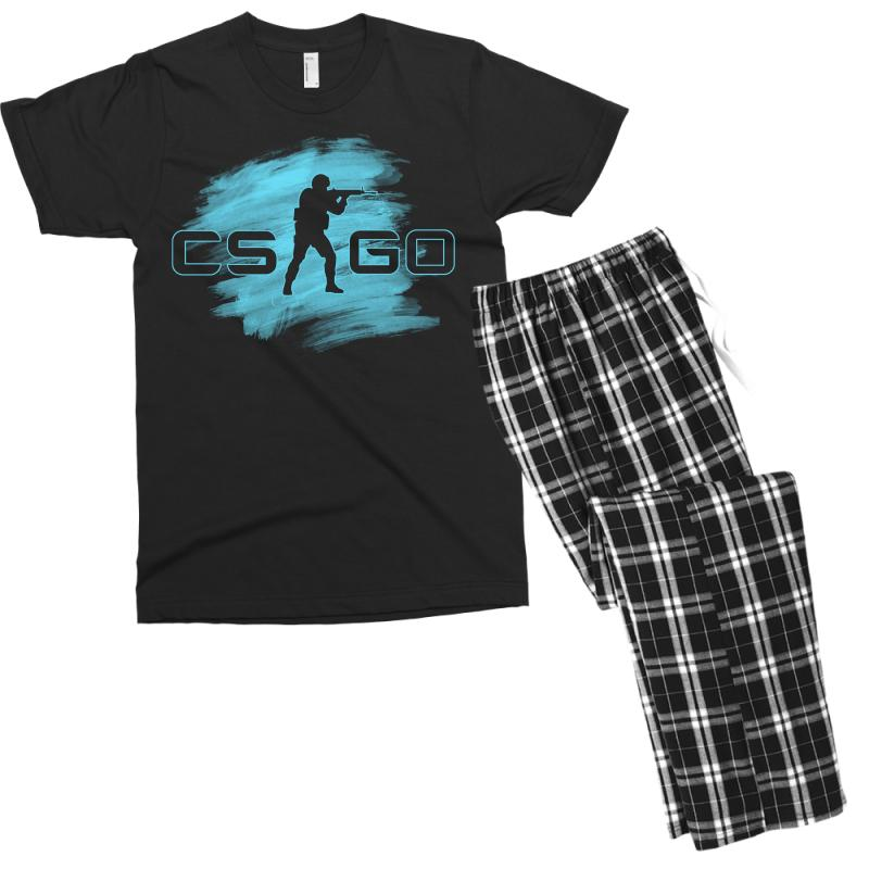 Cs Go Watercolor Men's T-shirt Pajama Set | Artistshot