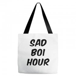 sad boi hour text only Tote Bags | Artistshot