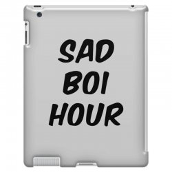 sad boi hour text only iPad 3 and 4 Case | Artistshot