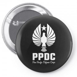 pan pacific defense corps Pin-back button | Artistshot