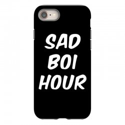 sad boi hour text only iPhone 8 Case | Artistshot