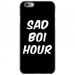 sad boi hour text only iPhone 6/6s Case | Artistshot