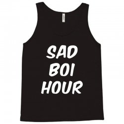 sad boi hour text only Tank Top | Artistshot