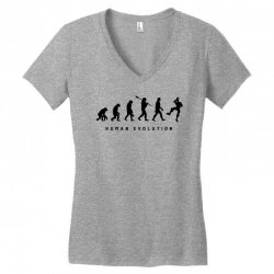 the evolution of fortnite Women's V-Neck T-Shirt | Artistshot