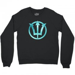 poseidon watercolor Crewneck Sweatshirt | Artistshot
