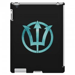 poseidon watercolor iPad 3 and 4 Case | Artistshot