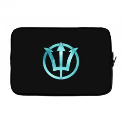 poseidon watercolor Laptop sleeve | Artistshot