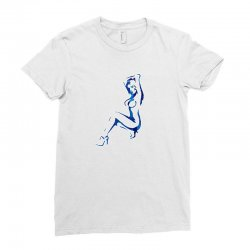 sexy lady Ladies Fitted T-Shirt | Artistshot