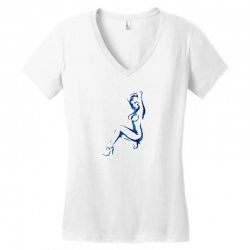sexy lady Women's V-Neck T-Shirt | Artistshot