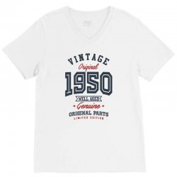 Gift for Born in 1950 V-Neck Tee | Artistshot