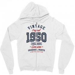 Gift for Born in 1950 Zipper Hoodie | Artistshot
