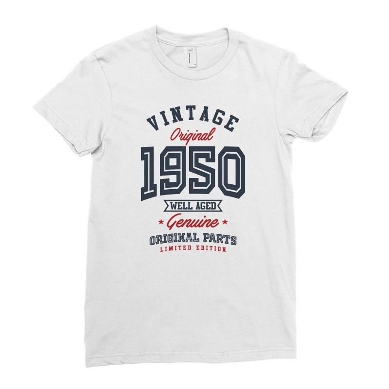 Gift For Born In 1950 Ladies Fitted T-shirt | Artistshot
