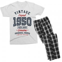 Gift for Born in 1950 Men's T-shirt Pajama Set | Artistshot