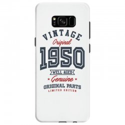Gift for Born in 1950 Samsung Galaxy S8 Case | Artistshot