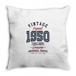 Gift for Born in 1950 Throw Pillow | Artistshot