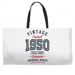 Gift for Born in 1950 Weekender Totes | Artistshot