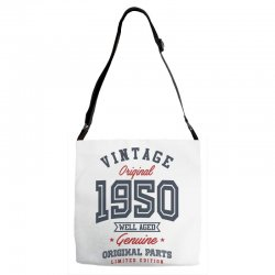 Gift for Born in 1950 Adjustable Strap Totes | Artistshot