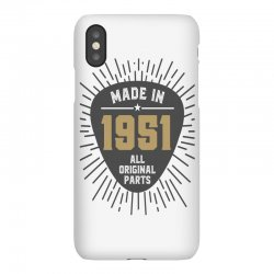 Gift for Made in 1951 iPhoneX Case | Artistshot
