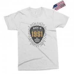Gift for Made in 1951 Exclusive T-shirt | Artistshot