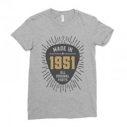 Gift for Made in 1951 Ladies Fitted T-Shirt | Artistshot