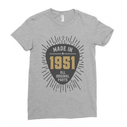Gift For Made In 1951 Ladies Fitted T-shirt Designed By Chris Ceconello