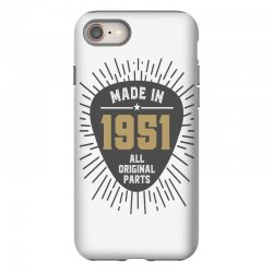 Gift for Made in 1951 iPhone 8 Case | Artistshot