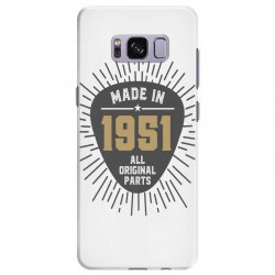 Gift for Made in 1951 Samsung Galaxy S8 Plus Case | Artistshot