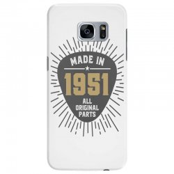 Gift for Made in 1951 Samsung Galaxy S7 Edge Case | Artistshot
