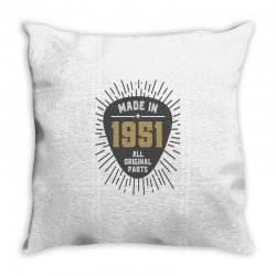 Gift for Made in 1951 Throw Pillow | Artistshot