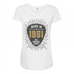 Gift for Made in 1951 Maternity Scoop Neck T-shirt | Artistshot