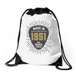 Gift for Made in 1951 Drawstring Bags | Artistshot