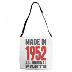 Made in 1952 All Original Parts Adjustable Strap Totes | Artistshot