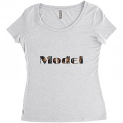 model lady Women's Triblend Scoop T-shirt | Artistshot