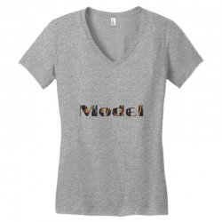 model lady Women's V-Neck T-Shirt | Artistshot