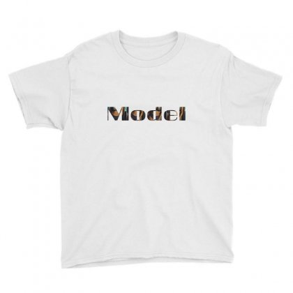Model Lady Youth Tee Designed By Fahimcool