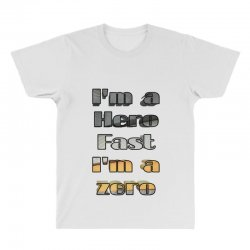 i*m a hero fast i*m a zero All Over Men's T-shirt | Artistshot