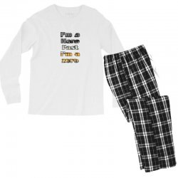 i*m a hero fast i*m a zero Men's Long Sleeve Pajama Set | Artistshot