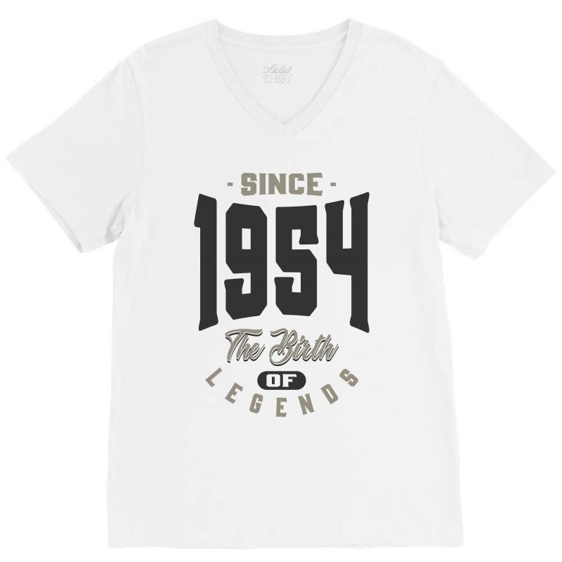 Since 1954 V-neck Tee | Artistshot