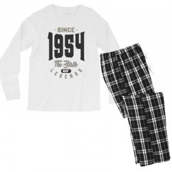 Since 1954 Men's Long Sleeve Pajama Set | Artistshot