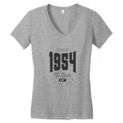 Since 1954 Women's V-Neck T-Shirt | Artistshot