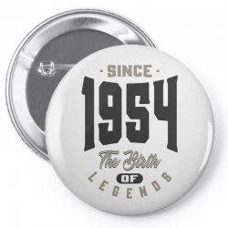 Since 1954 Pin-back button | Artistshot