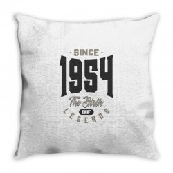 Since 1954 Throw Pillow | Artistshot