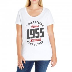 Since 1955 Aged To Perfection Ladies Curvy T-Shirt | Artistshot