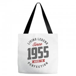 Since 1955 Aged To Perfection Tote Bags | Artistshot
