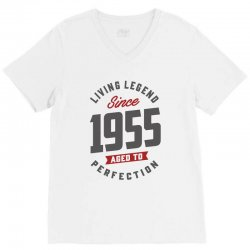 Since 1955 Aged To Perfection V-Neck Tee | Artistshot