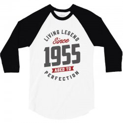 Since 1955 Aged To Perfection 3/4 Sleeve Shirt | Artistshot